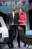 09/10/2014 Roma Nicola Porro conduce Virus, rai due con Greta Mauro