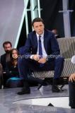 09/10/2014 Roma Nicola Porro conduce Virus, rai due, ospite Matteo Renzi
