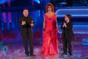 Sophia Loren ospite della trasmissione _Volami nel cuore_ presentata da Pupo ed Ernesto Scinelli