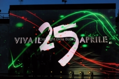 25/04/2015 Roma rai uno Viva il 25 aprile, nella foto: Fabio Fazio