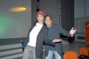 26/05/05conferenza stampa di fine trasmissione radiofonica W RADIO DUE condotta da Fiorello e Marco Baldini