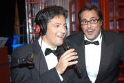 Gioia Botteghi/OMEGA 20/11/06Trasmissione di Fiorello W RADIO 2 IN TV nelle foto anche Marco Baldini