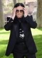 """Foto/IPP/Gioia Botteghi 14/03/2018 Roma,  Presentazione del film """"ZEROVSKIJ - SOLO PER AMORE"""", nella foto Renato Zero a villa Borghese  Italy Photo Press - World Copyright"""